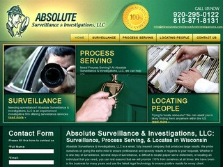 Private Investigator Website Design Services