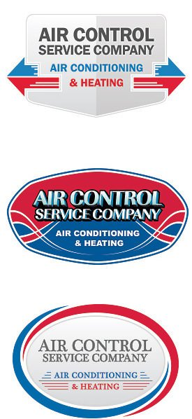 HVAC Logo Designs | Small Business Logos