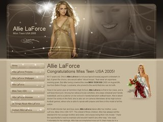 Beauty Pageant Website Design