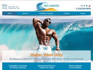 Fitness Training Website Design