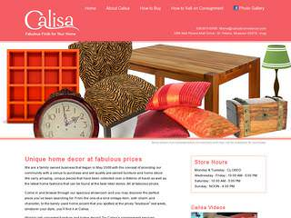 Retail Store Website Before Website Redesign