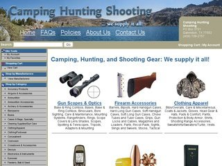 Camping Hunting Shooting