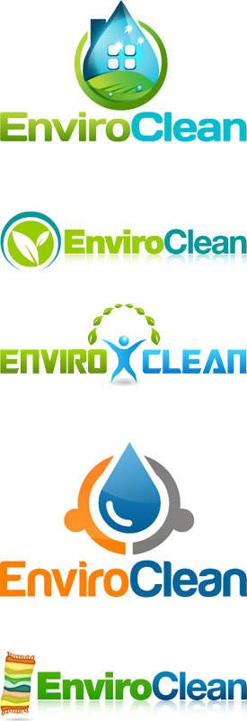 Carpet Cleaner Logo Design