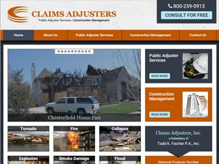 Contractor Company Website Design