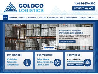 Coldco Warehouse & Logistics After Redesign
