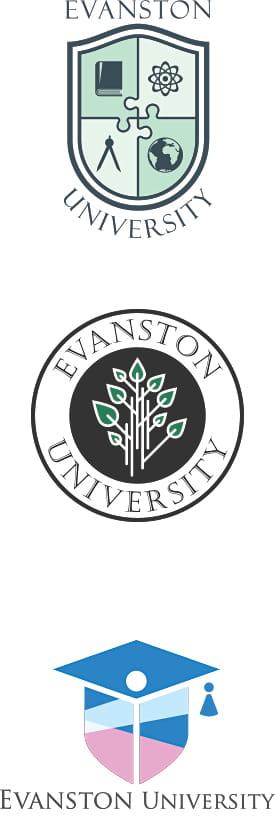 College and University Logo Design
