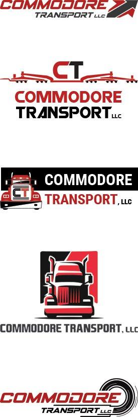 Oversize Load Trucking Logo Design Services