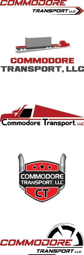 Heavy Haul Trucking Company Logo Design