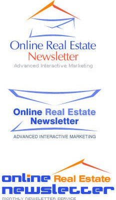 Logo design for Online Real Estate Newsletter