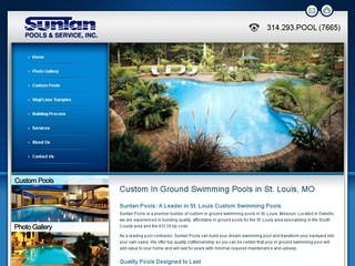 Custom Swimming Pool Builder - Suntan Pools