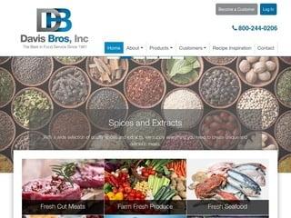 Distributor Website Design