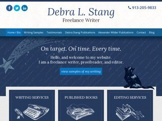 Website Design Services for Writers, Authors, & Journalists ...