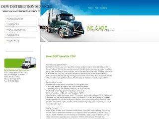 Third Party Logistics Company Website Before Website Redesign