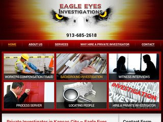 Website Design for Private Investigators