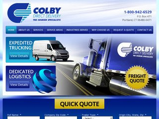 Trucking Website Design