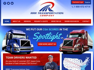 Georgia Long Haul Trucking Company After Redesign