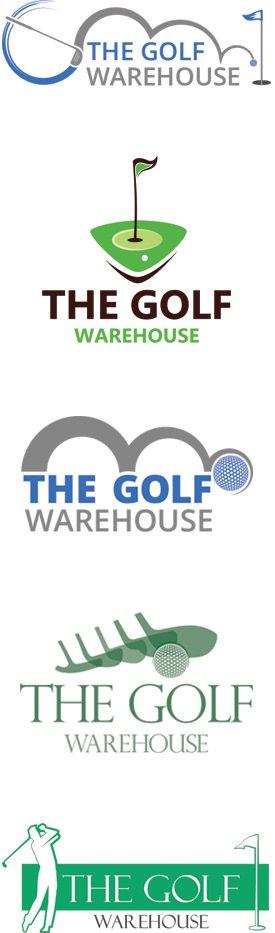 Golf Store Logo Design