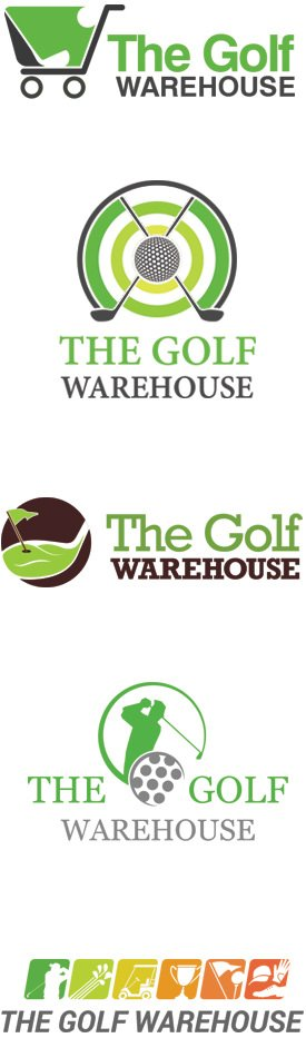 Golf Store Logo Design
