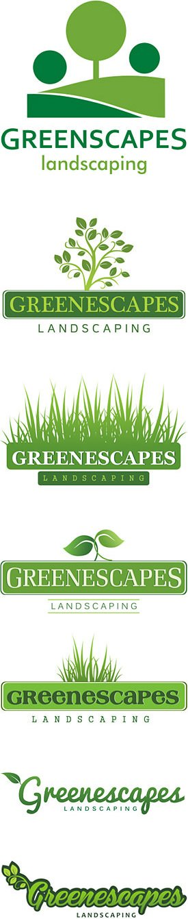 Landscaping logo design logos for landscaping lawn care for Landscaping companies