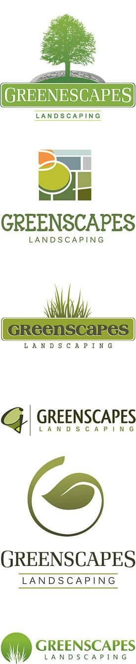 Landscaping Company Logo Design