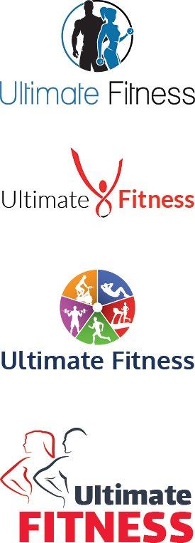 Fitness Logo Designs | Gym Logos
