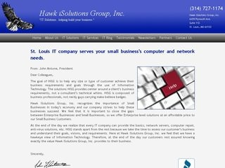 Hawk iSolutions - St. Louis IT Company