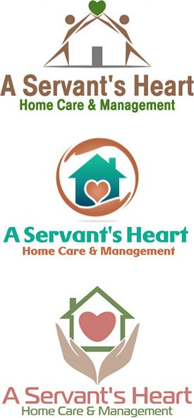 Healthcare logo design - Home health care logo design ...