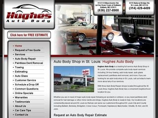 Automotive Repair Shop Website Design
