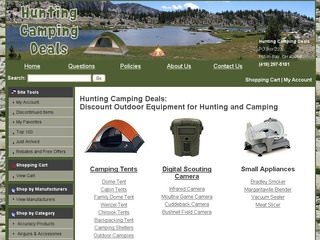 Hunting Website Design | Ecommerce Hunting Supply Website