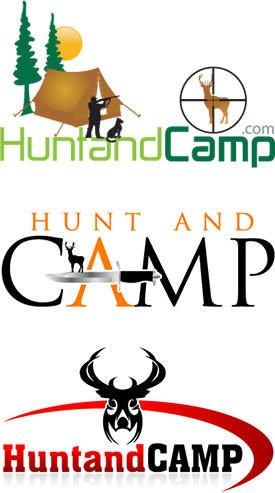 Hunting and Camping Retail Logo Design
