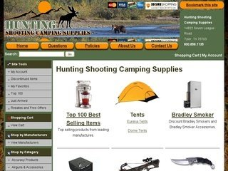 Hunting Shooting Camping Supplies