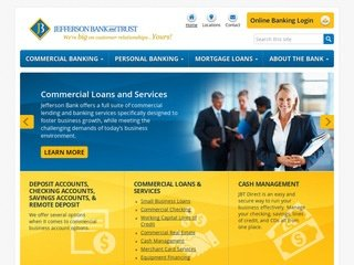 Bank Website Design After Redesign