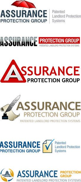 Landlord Protection Company Logo Design