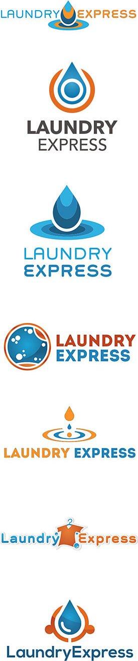 Laundromat Logo Designs