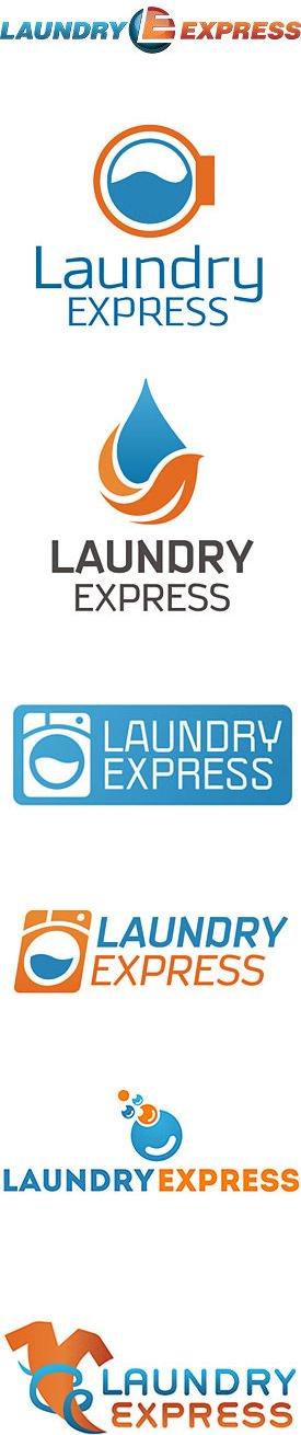 Laundromat Logo Design