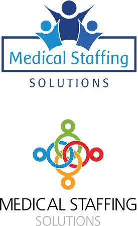 Medical Staffing & Recruiting Logo Design Services
