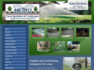 Landscaping / Lawn Care Website Design