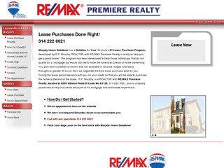 St. Louis Real Estate Agent Website Before Website Redesign