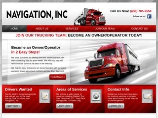 Trucking Company Website Design