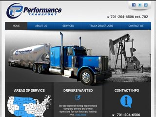 Transportation & Trucking Website Design
