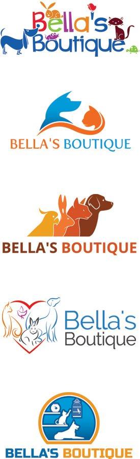 Pet Store Logo Designs