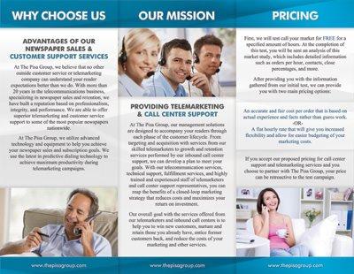 Trifold Brochure Design Services
