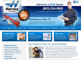 Plumbing Website Designs