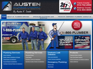 Plumbing Web Design - Plumber Websites