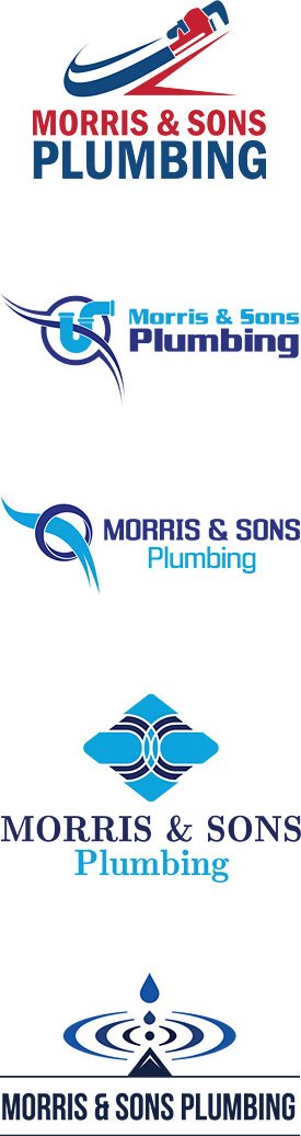 Plumbing logo design logos for plumbers