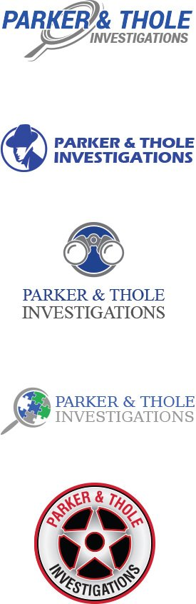 Private Investigations Logos