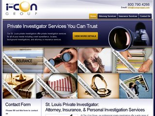 Private Investigator Web Design & SEO Services