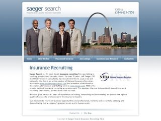 Saeger Search Insurance Recruiting