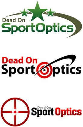 Hunting Scopes and Rifle Scopes Logo Design Samples
