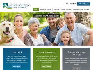 Reverse Mortgage Website Design